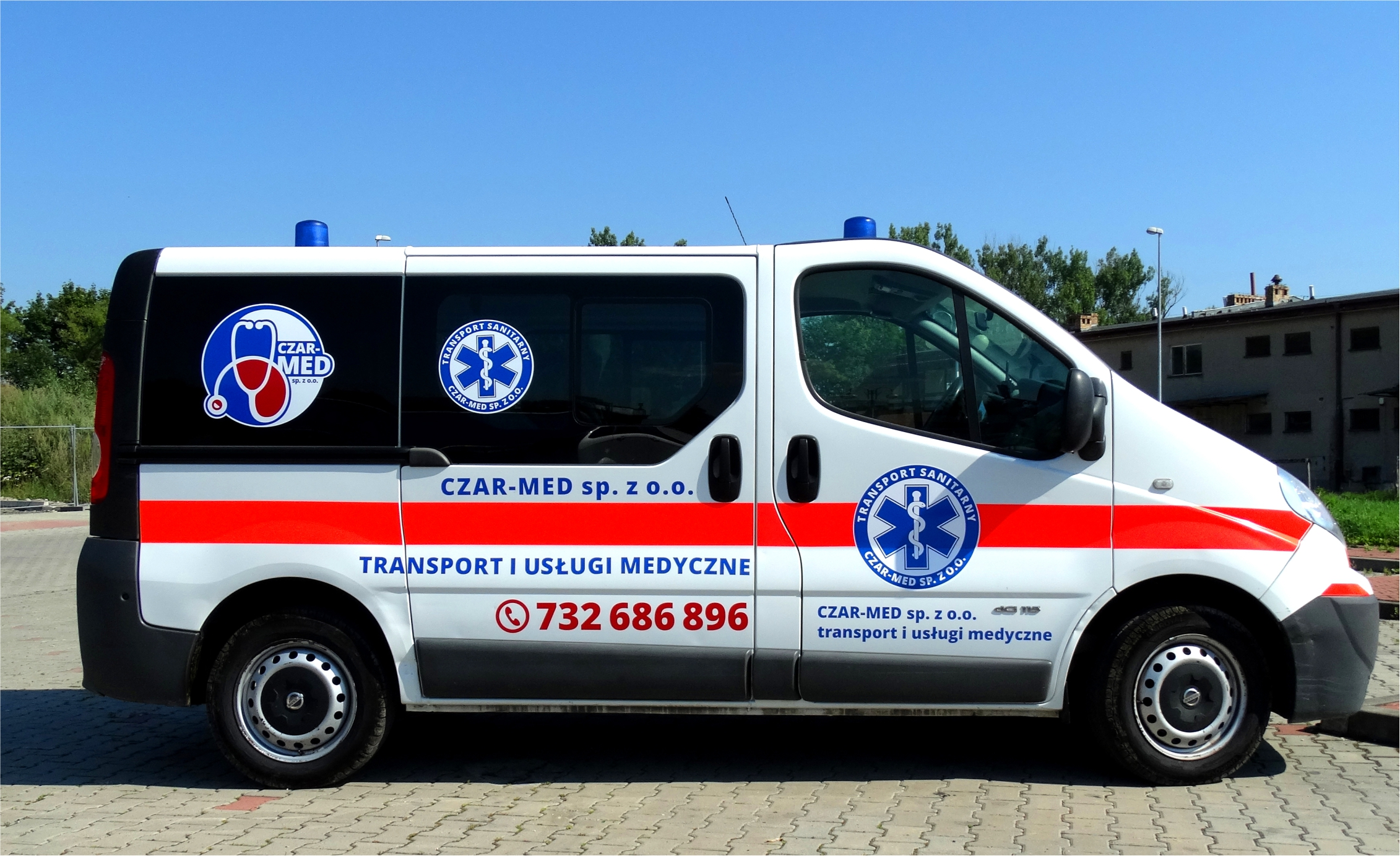 transport sanitarny