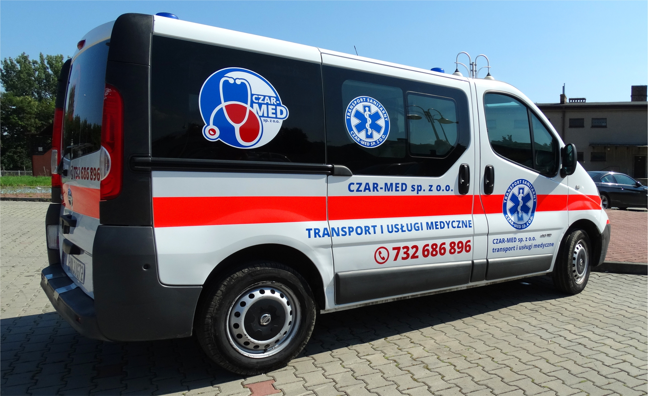 dówóz do szpitala